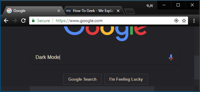 It's confirmed - dark mode for Google...