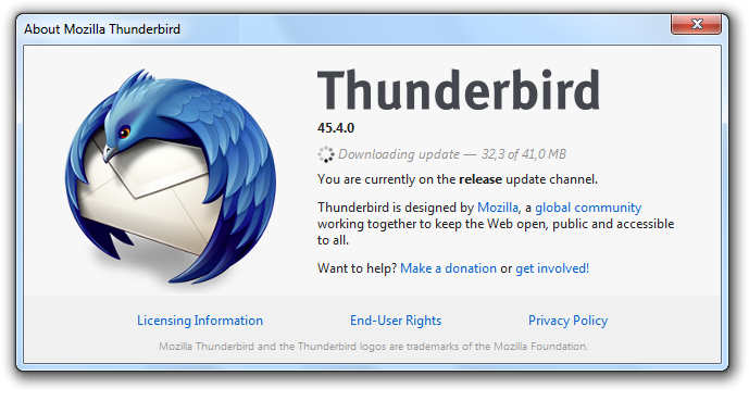 Mozilla Thunderbird gets faster and...