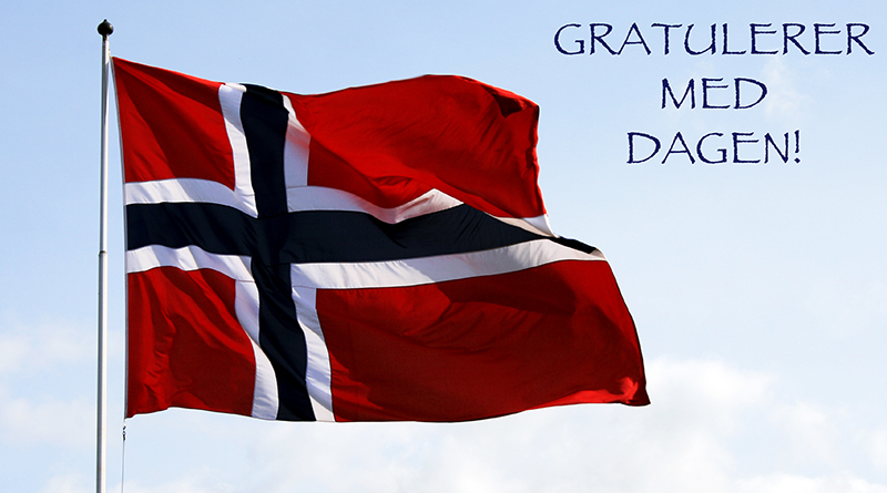 Happy 17th of may Norway! Gratulerer med dagen...