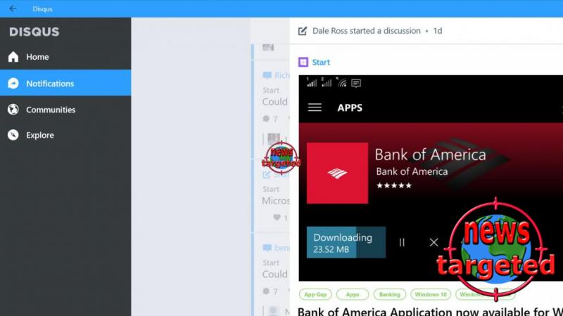 Is now coming Disqus app for Windows 10