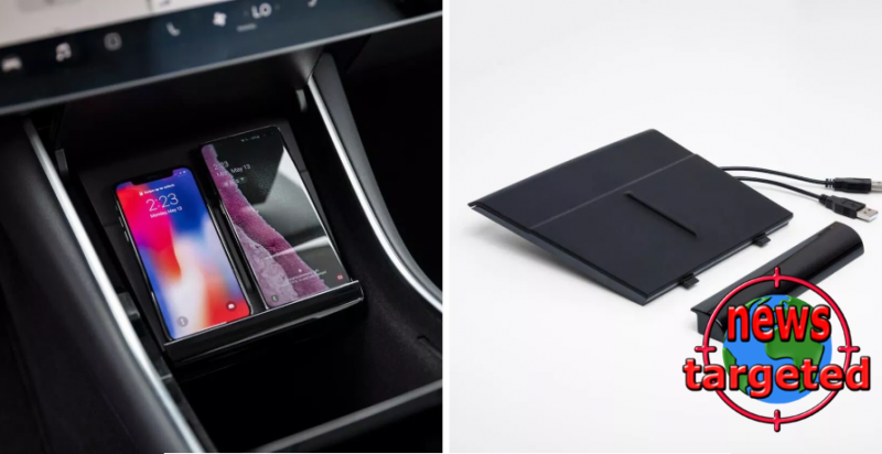 Tesla has launched wireless charger...