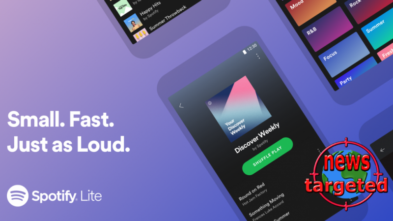 Spotify Lite launched for older Android phones