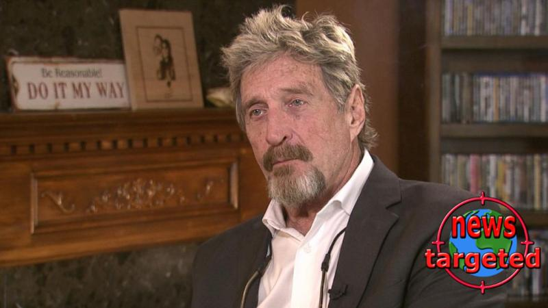 John McAfee arrested for the discovery of...