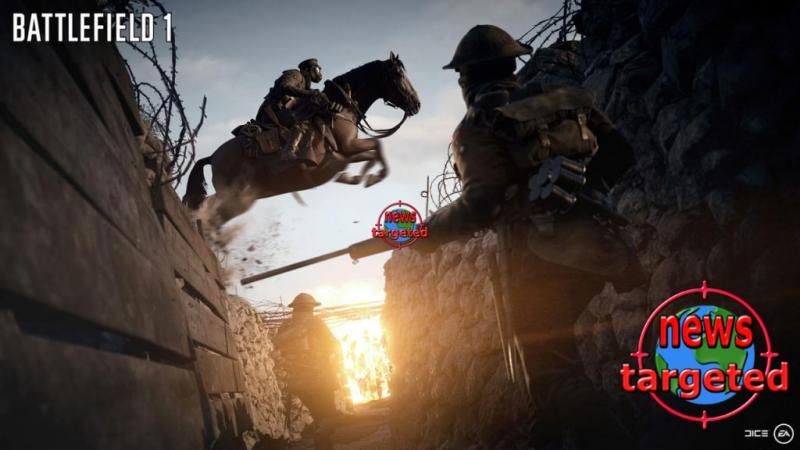 See the new, hefty Battlefield 1 trailer