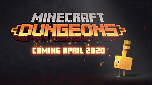 The Minecraft Dungeon is coming in April 2020