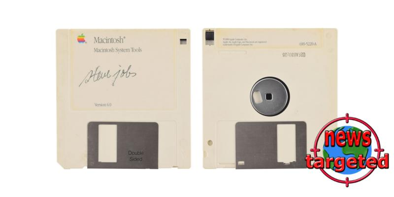 This floppy disk is worth 7809.67 USD