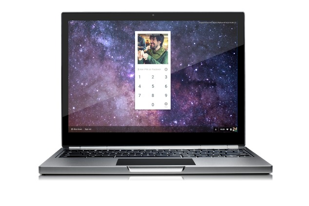 You can now unlock your Chromebook...