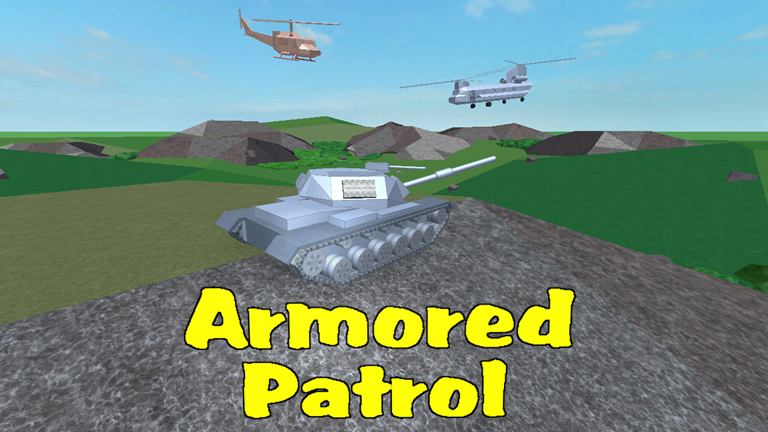 Armoured patrol is a roblox classic