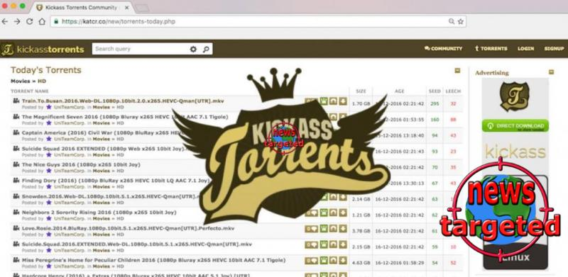 Katcr.co — Original KickassTorrents...