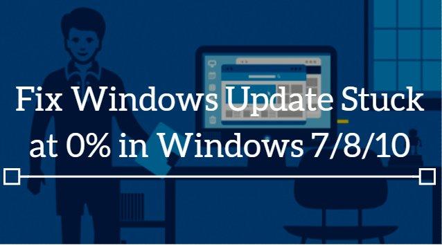 How to Fix Windows Update When It Gets Stuck