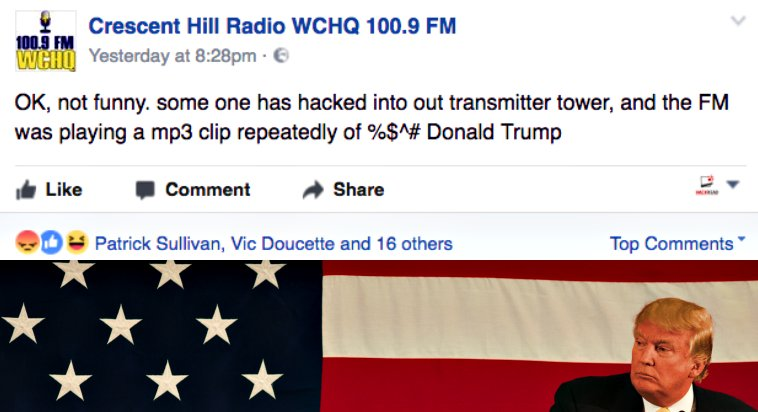 Hackers Hijacked Radio Station and...