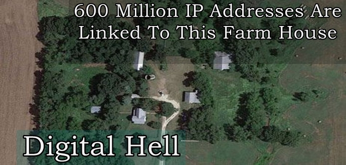 "This farmhouse called ""Digital Hell""..."