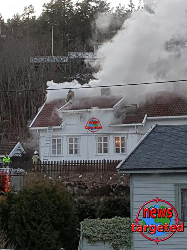 Rykker ut til brann på Tjøme