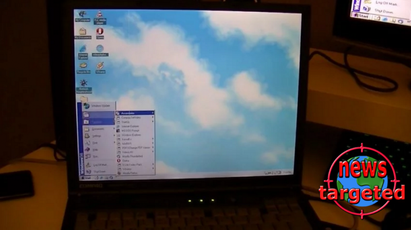 How is it to use Windows 98 in 2017