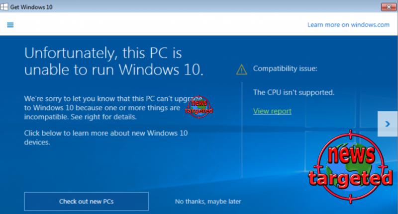 Microsoft blocks CPU updates - how...