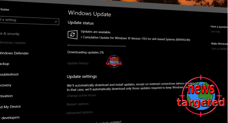 Windows 10 update released for anyone...