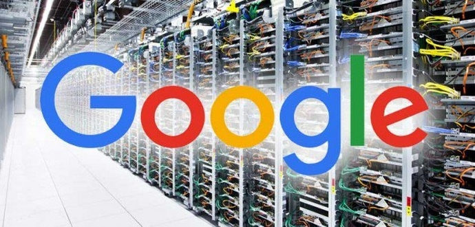 How does Google manage all its data?