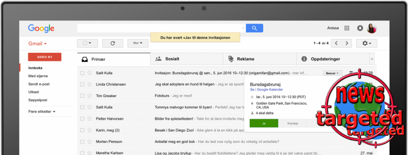 See the new Gmail design