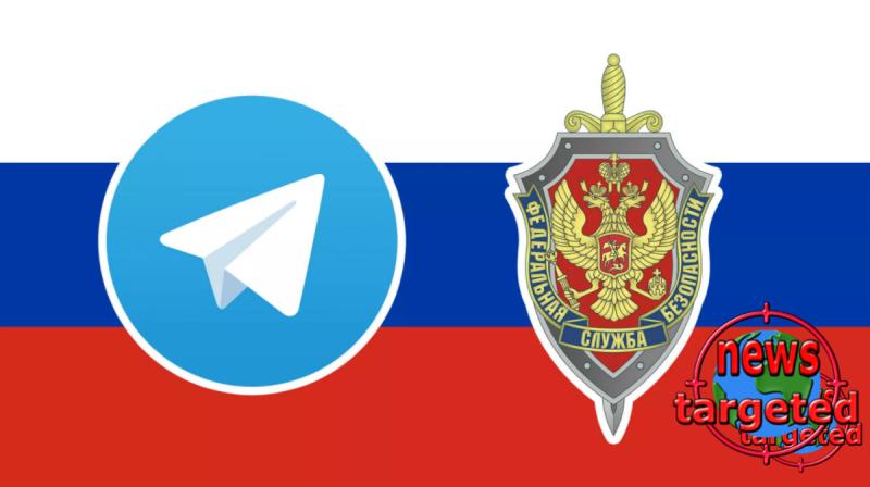 Russia orders the blocking of telegrams