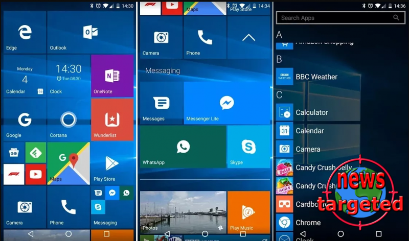 How to get Windows Phone UI on your...