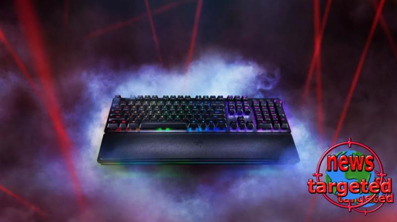 Razer's new keyboard uses lasers