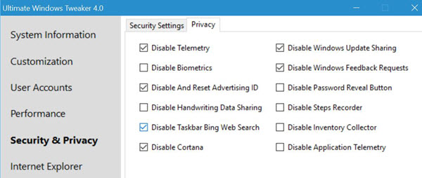 10 Tools to tweak Windows 10 Privacy...