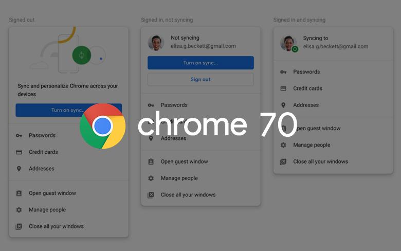 Google alerts Chrome changes after...